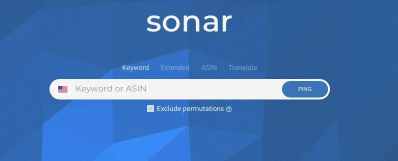sonar free keyword planner