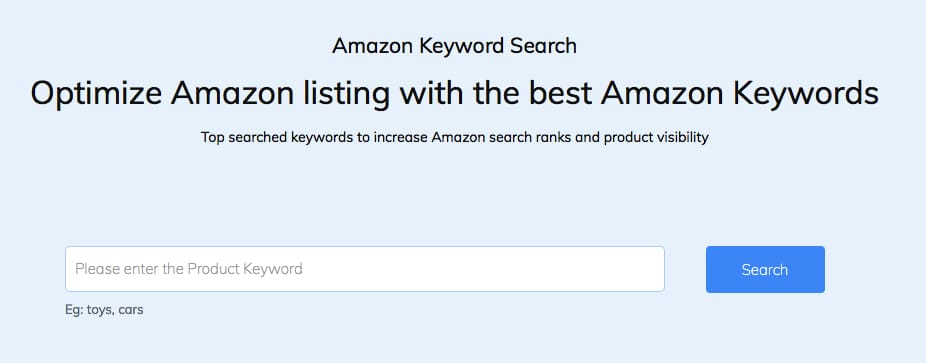 best amazon keyword research tool 2019