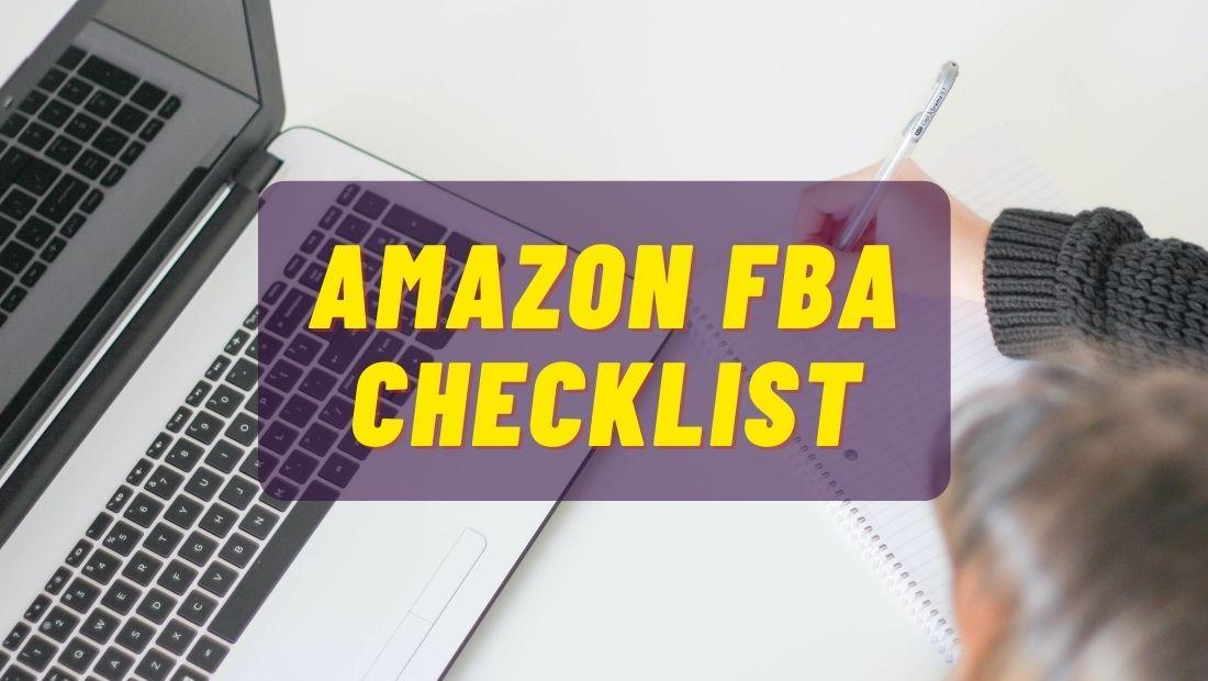 fba seller checklist